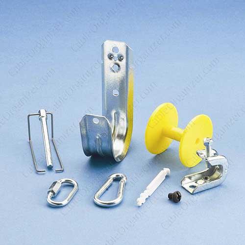 Supports de câbles Caddy® avec poulies tire-câbles